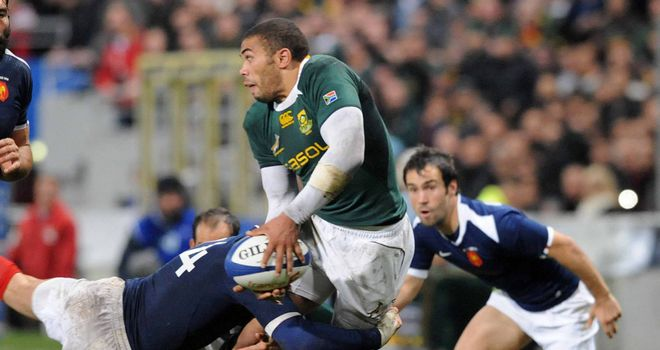 Bryan Habana: Will move to Toulon at the end of the season