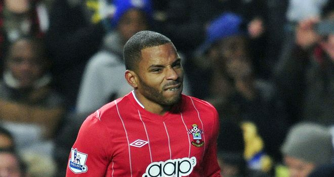 Jason Puncheon in action for Southampton