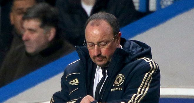 Rafa Benitez: Appears keen to remain at Stamford Bridge long-term