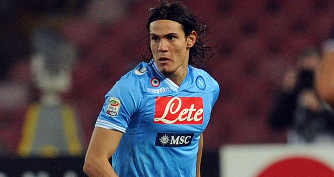 Edinson Cavani: Struck a late winner for Napoli against Parma