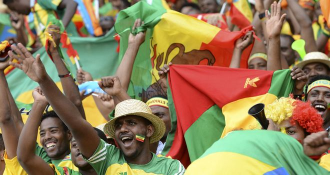 Ethiopia fans: Got in trouble after Zambia clash