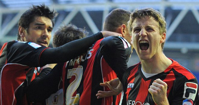 Eunan O'Kane: Opened the scoring for Bournemouth in fine style