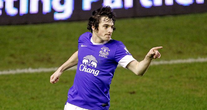 Leighton Baines: Scored the first brace of his career