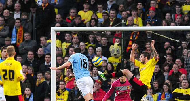 Gareth Barry: Scores for City
