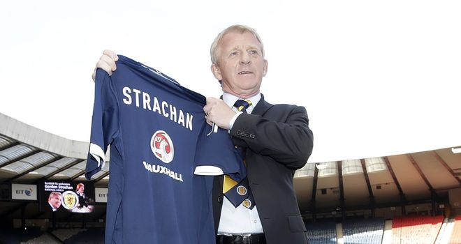 Gordon Strachan: Taking the Scotland helm for the first time against Estonia