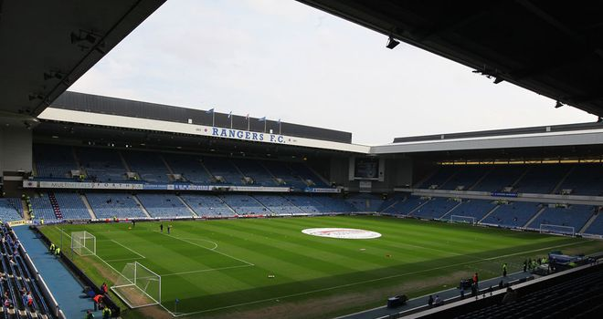 Ibrox could host English non-league clubs if Rangers join the Blue Square Bet Premier League