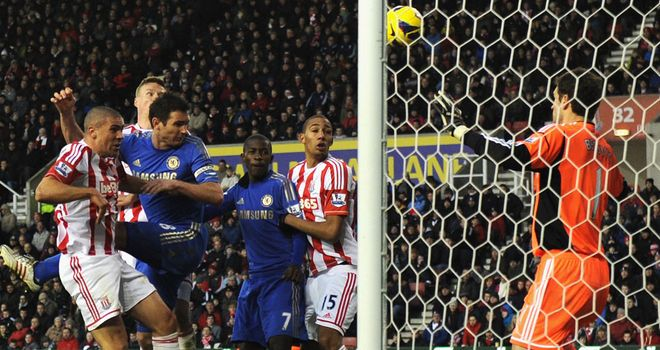 Jon Walters: Heading into his own goal again