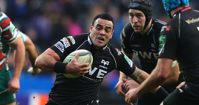 Kahn Fotuali'i: will play for Northampton Saints in the 2013/14 season