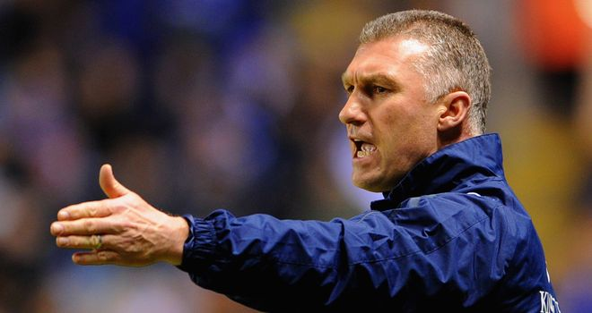 Nigel Pearson: Leicester manager pleased with performance against Wolves