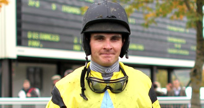 Liam Treadwell: Gave Emperor's Choice a determined winning ride
