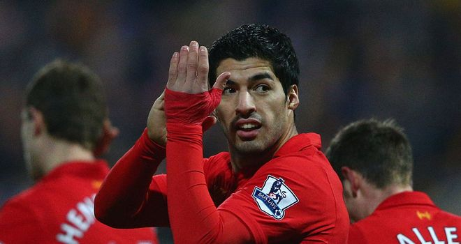Luis Suarez: Liverpool striker 'laden with controversy' according to Manchester United boss Sir Alex Ferguson