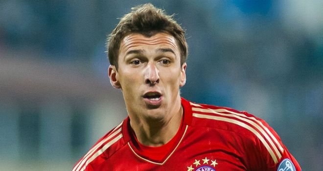Mario Mandzukic: Bagged a double for Bayern