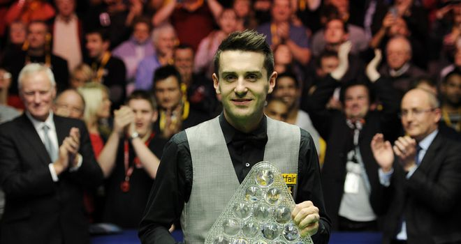 Mark Selby: Held off challenge from Neil Robertson to secure his third Masters title
