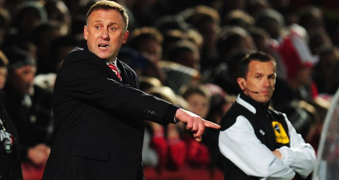 Mark Yates: Unhappy with an FA Cup exit but satisfied with players