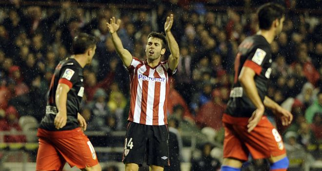 Markel Susaeta: Equaliser for Bilbao