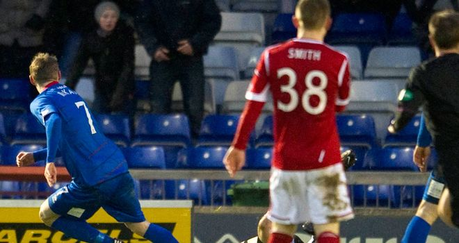 Billy McKay: Scores against Aberdeen