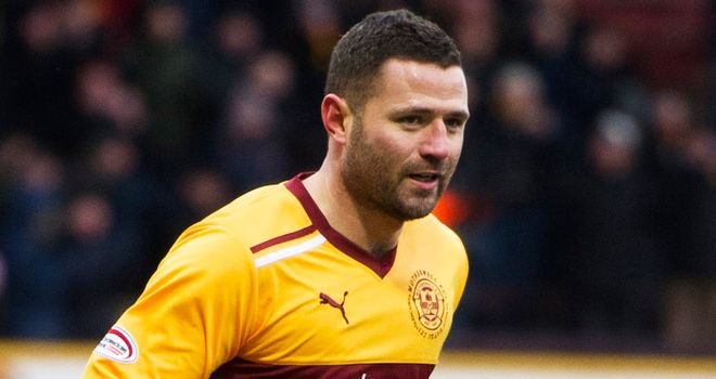Michael Higdon: Continued his fine form in front of goal for Motherwell