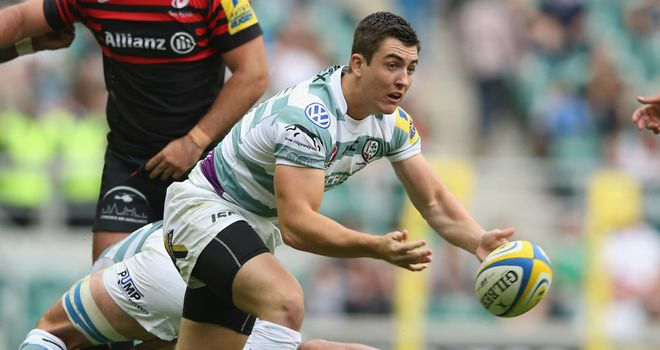Jack Moates: Scored either side of half-time for London Irish