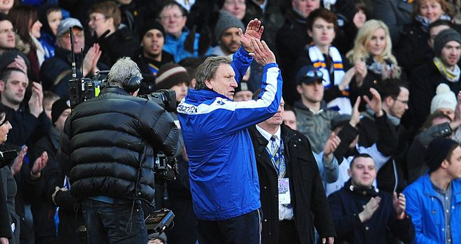 Neil Warnock was delighted with Leeds after 2-1 FA Cup win over Tottenham