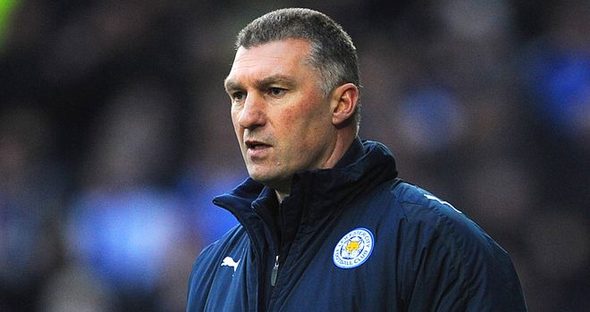 Nigel Pearson: Felt Leicester dealt well with a poor pitch.
