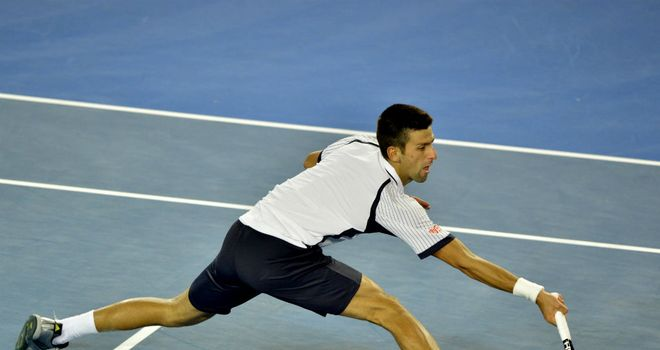 Novak Djokovic: Had things a lot easier than he did against Stanislas Wawrinka