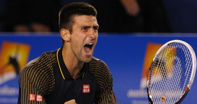 Novak Djokovic: avenged last year's US Open final defeat to Andy Murray