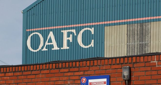 Oldham v Hartlepool won't go ahead tonight