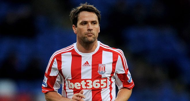Michael Owen: Has made just five appearances for Stoke since summer move