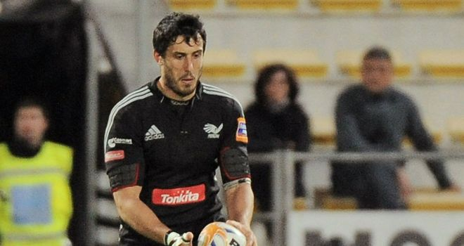 Paolo Buso: Back in the Italy squad for the RBS Six Nations.