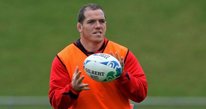 Paul James: Prepared to play anywhere in order to represent Wales