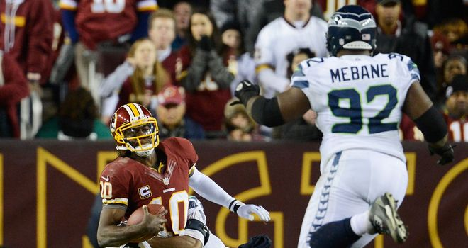 Robert Griffin III: Knee gave out in fourth quarter of clash with Seattle