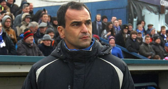 Roberto Martinez: The Wigan boss does not want fans to worry