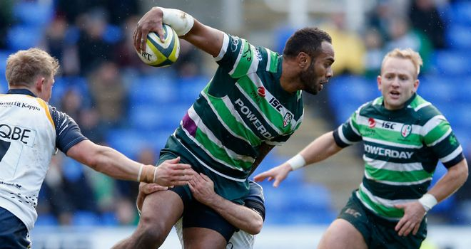 Sailosi Tagicakibau on the charge for London Irish