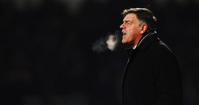 Sam Allardyce: Insists West Ham deserved to beat London rivals QPR
