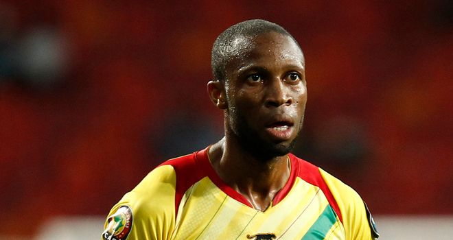 Seydou Keita: On target for Mali as they reached semi-finals of ANC