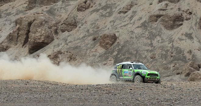 Stephane Peterhansel: Still in control of the Dakar Rally