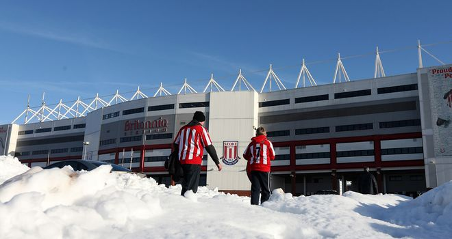 Britannia Stadium: Home of Stoke City