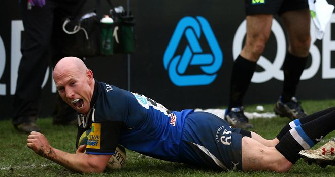 Peter Stringer: Two tries on debut
