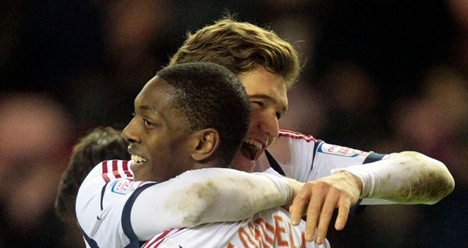 Marvin Sordell: Spot on for Bolton