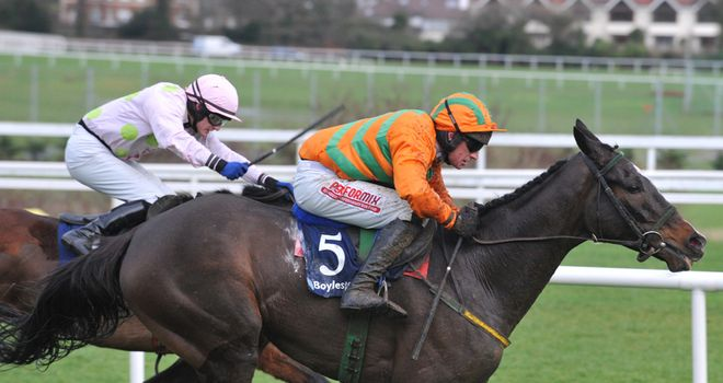 Texas Jack: Bounced back to form under Paul Carberry