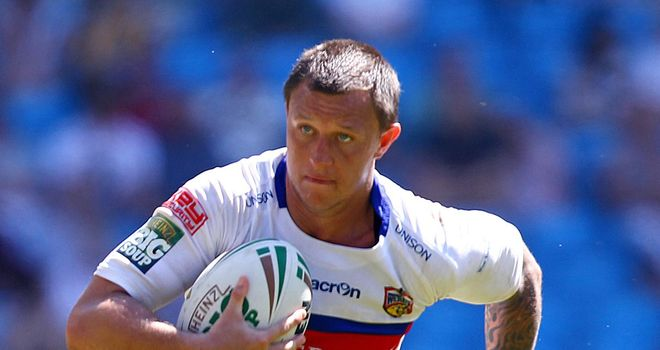 Tim Smith: Back in the Wakefield squad