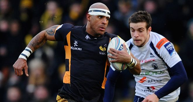Hat-trick hero Tom Varndell leaves Edoardo Padovani in his wake