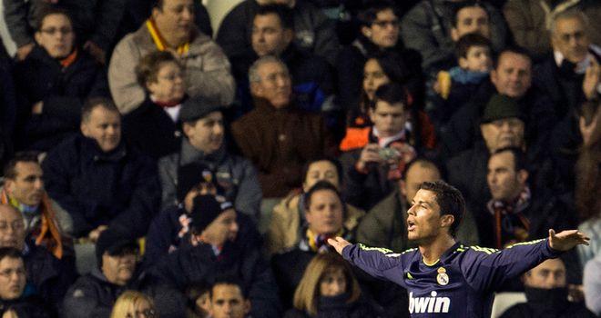 Cristiano Ronaldo: Bagged a brace