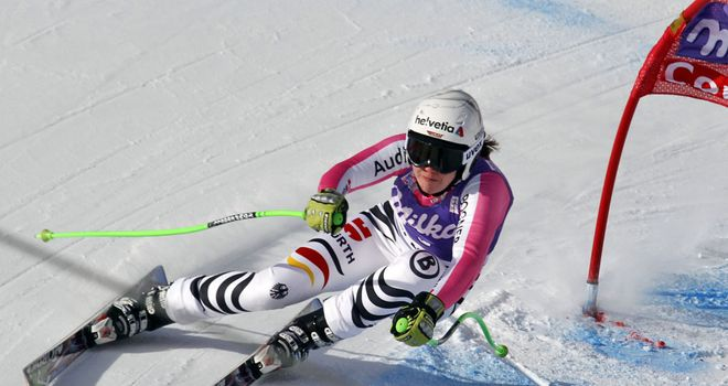 Viktoria Rebensburg: claimed her second victory of the World Cup season on Sunday