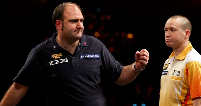 Scott Waites: will next face fellow Englishman Paul Jennings in the last eight