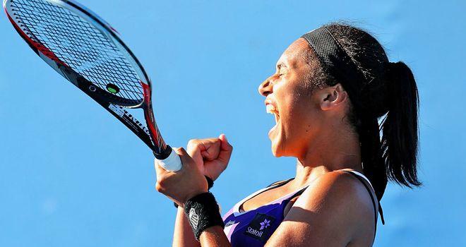 Heather Watson: Claimed a memorable win over Ksenia Pervak