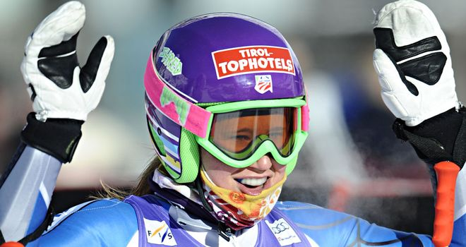 Alice McKennis: Claimed her maiden World Cup victory in St Anton