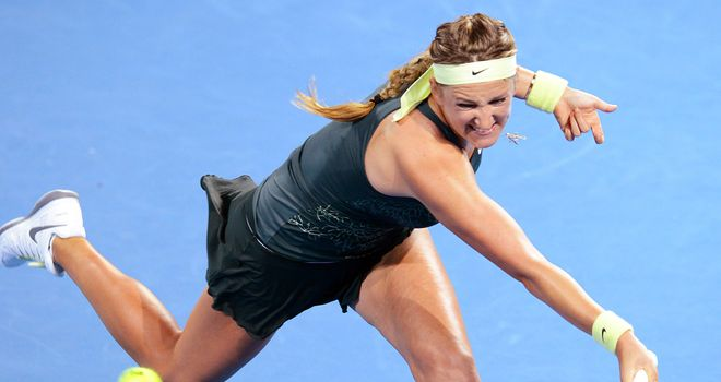 Victoria Azarenka: World No 1 and defending champion