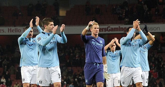 City: Soak up the applause after their win