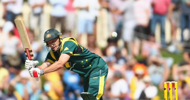 David Hussey: Notts star axed from ODI squad